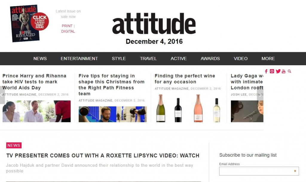 Attitude (26.08.2016)
