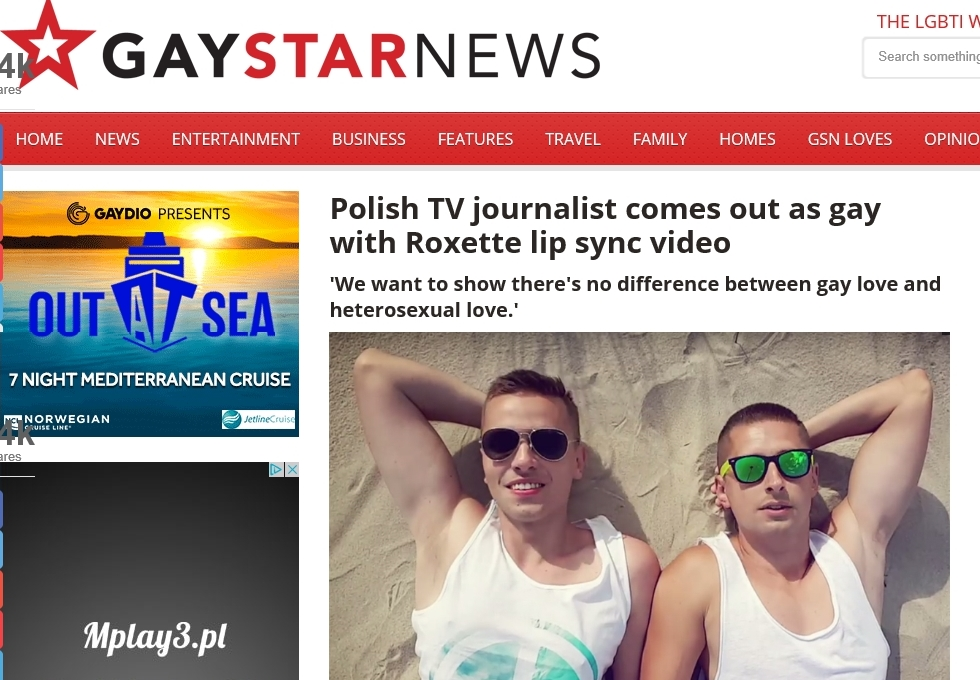 Gay Star News (25.08.2016)