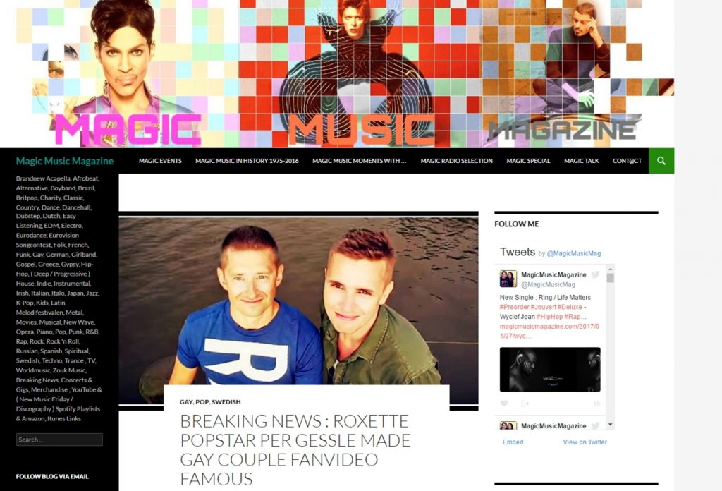 Magicmusicmagazine.com (11.08.2016)