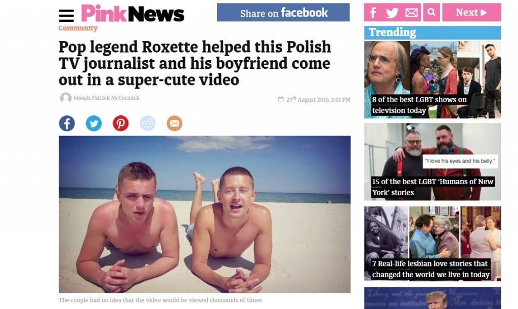 Pink news (27.08.2016)