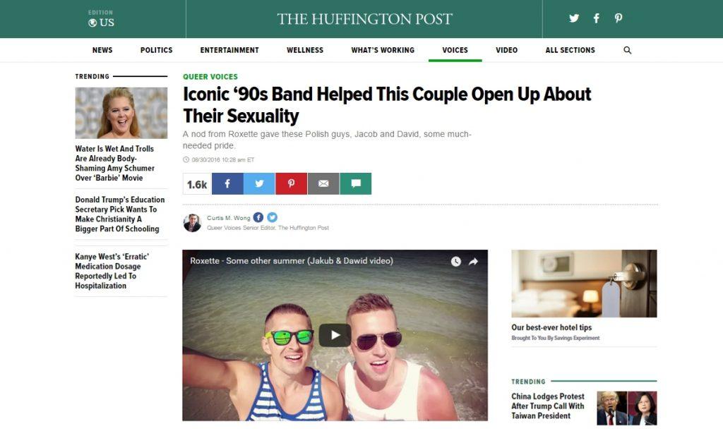 Huffington post (30.08.2016)