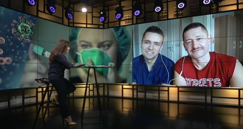 """<b>Onet rano<br>""""Nasze małżeństwa są niewidzialne dla polskiego prawa – Mycek i Kwieciński""""</b><br>20.03.2020"""